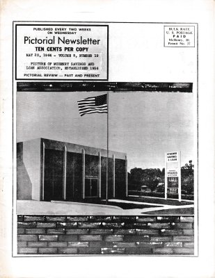 The Pictorial Newsletter: May 20, 1964