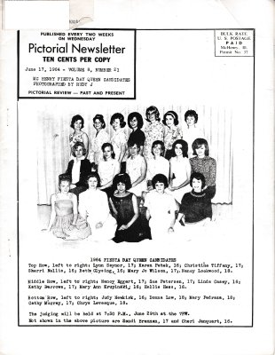The Pictorial Newsletter: June 17, 1964