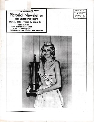 The Pictorial Newsletter: July 15, 1964
