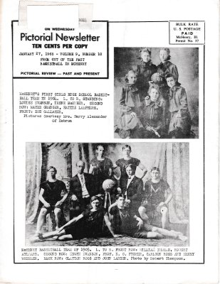 The Pictorial Newsletter: January 27, 1965