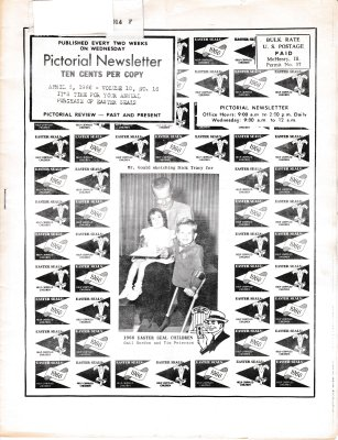 The Pictorial Newsletter: April 6, 1966