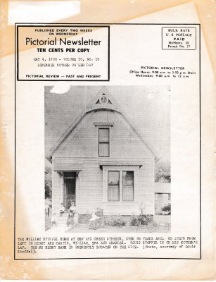 The Pictorial Newsletter: May 4, 1966