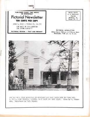 The Pictorial Newsletter: June 1, 1966