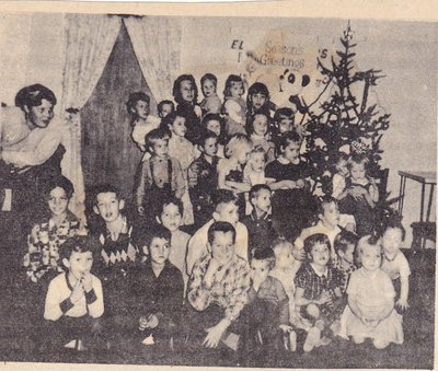 Children at Christmas Gathering