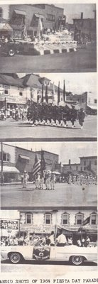 Candid Shots of the 1964 Fiesta Day Parade.