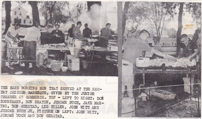Chicken BBQ Served by the Junior Chamber of Commerce.