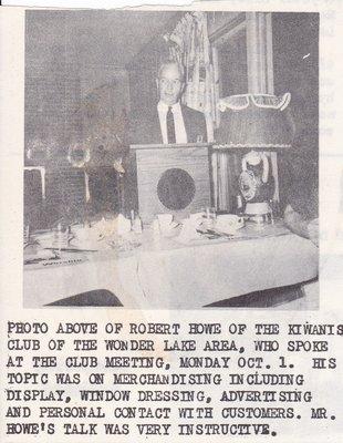 Robert Howe on Merchandising