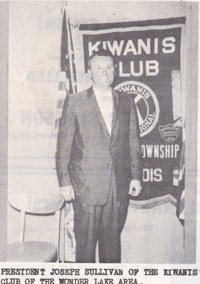 President Joseph Sullivan