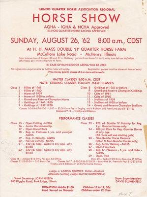 Illinois Quarter Horse Association Regional