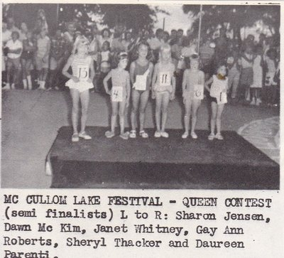 MCCollom Lake Festival Queen Contest