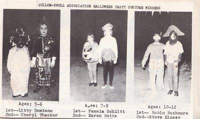 Cullom Knoll Assoc. Halloween Costume Winners