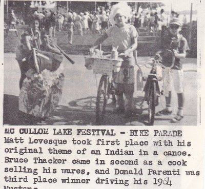 Bike Parade Winners at the McCullom Lake Festival