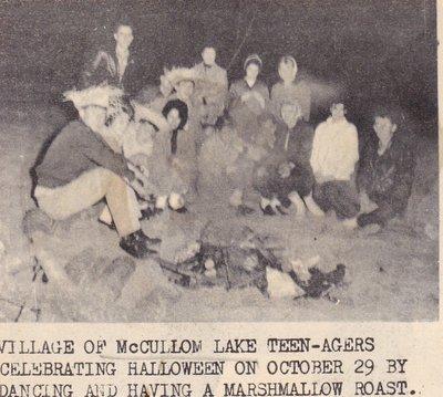 McCullom Lake Teenagers Celebrating Halloween