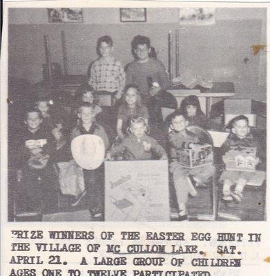McCullom Lake Easter Egg Hunt Winners