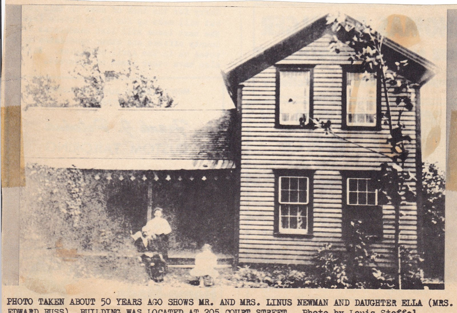 Linus Neuman Residence About 1910
