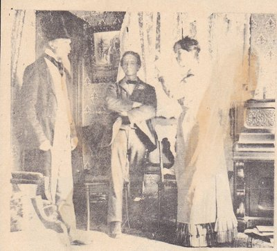 Scene From School Play In 1902