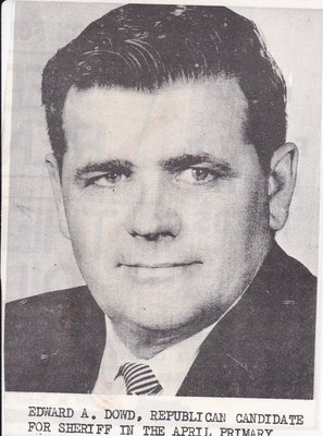 Edward Dowd, Republican Candidate for Sheriff
