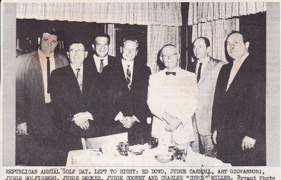 1961 Republican Annual Golf Day
