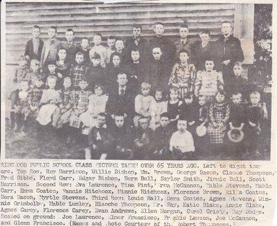 Ringwood Public School Class Taken In 1890s