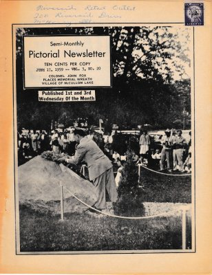The Pictorial Newsletter: June 17, 1959
