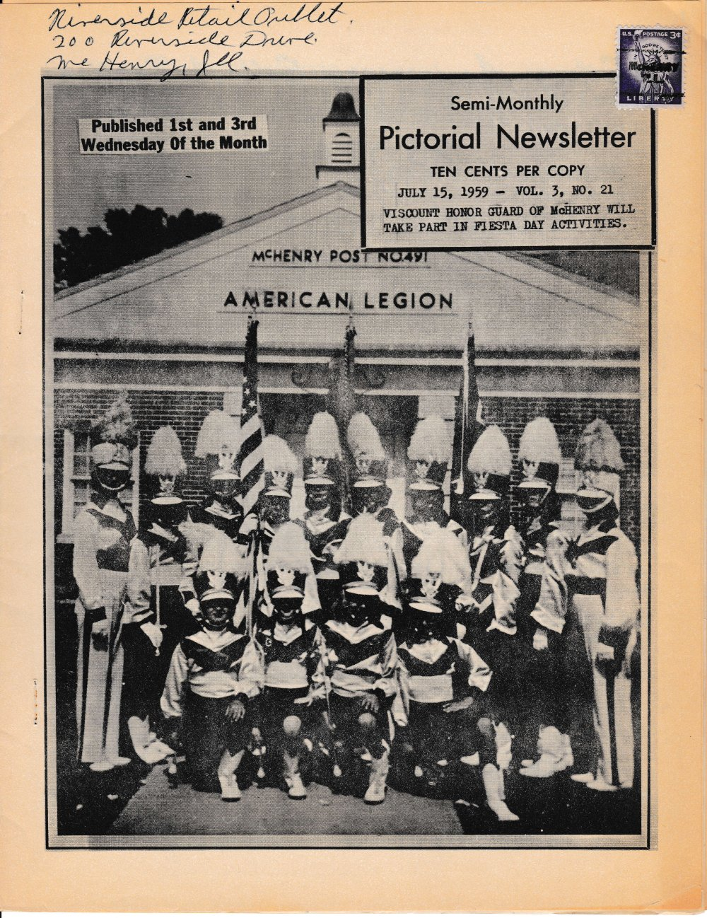 The Pictorial Newsletter: July 15, 1959