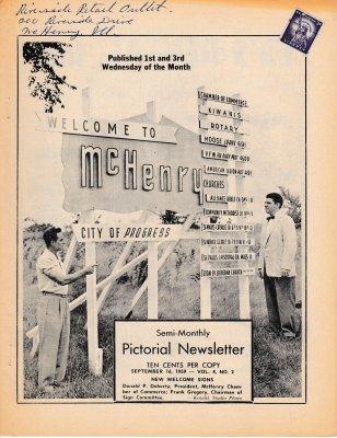 The Pictorial Newsletter: September 16, 1959