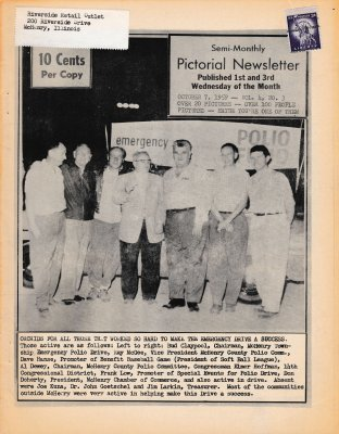 The Pictorial Newsletter: October 7, 1959
