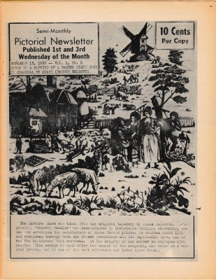 The Pictorial Newsletter: November 18, 1959
