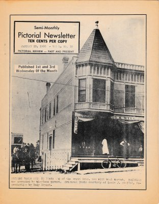 The Pictorial Newsletter: January 20, 1960