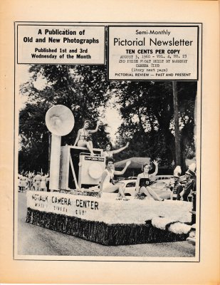 The Pictorial Newsletter: August 3, 1960