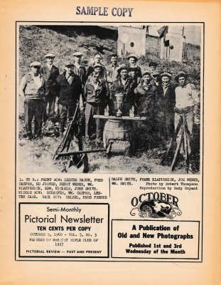 The Pictorial Newsletter: October 5, 1960