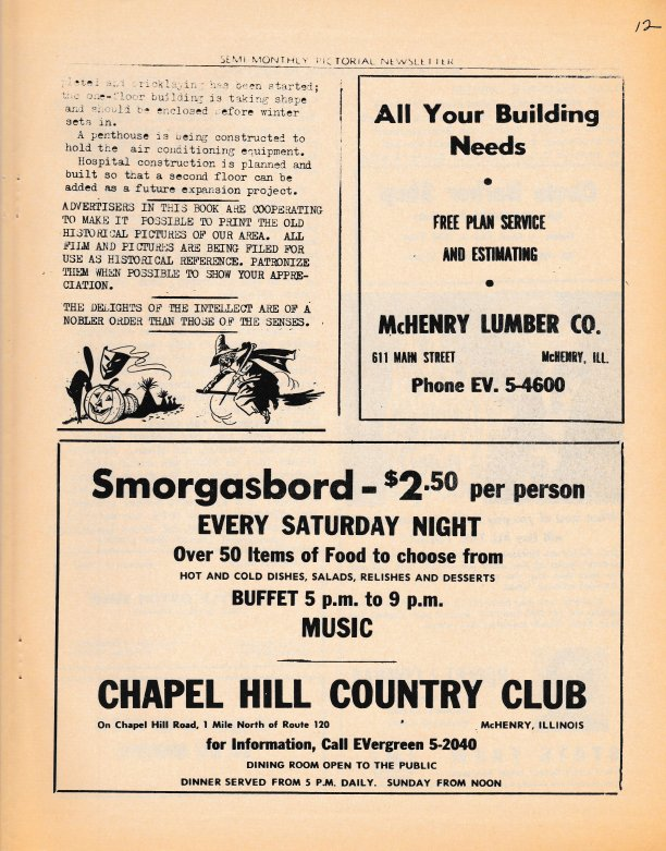 The Pictorial Newsletter: October 19, 1960