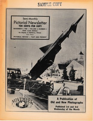 The Pictorial Newsletter: November 5, 1960