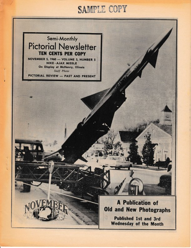 The Pictorial Newsletter: November 5, 1960