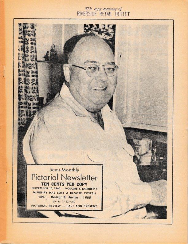 The Pictorial Newsletter: November 16, 1960