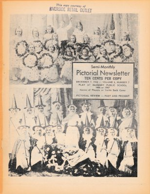 The Pictorial Newsletter: December 7, 1960