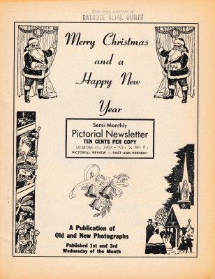 The Pictorial Newsletter: December 21, 1960