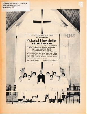 The Pictorial Newsletter: April 12, 1961