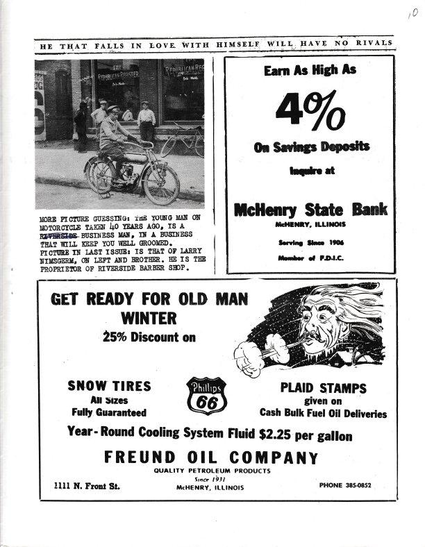 The Pictorial Newsletter: September 26, 1962