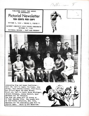 The Pictorial Newsletter: October 9, 1963