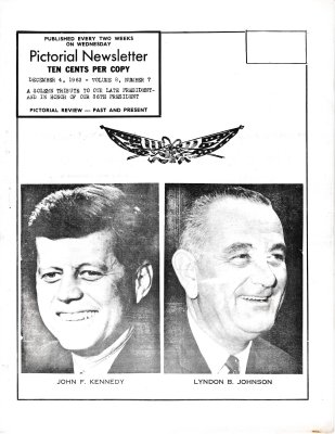 The Pictorial Newsletter: December 4, 1963