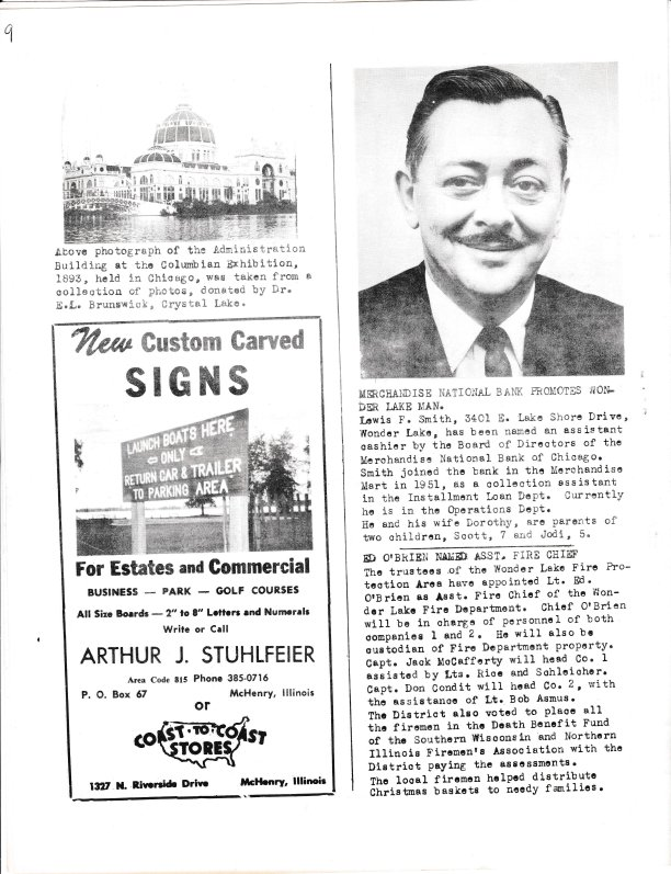 The Pictorial Newsletter: January 1, 1964