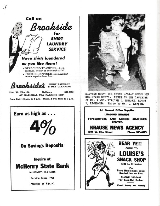 The Pictorial Newsletter: January 15, 1964