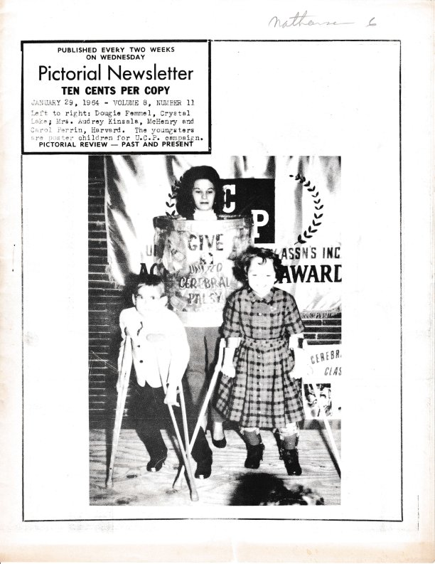 The Pictorial Newsletter: January 29, 1964