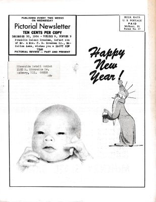 The Pictorial Newsletter: December 30, 1964