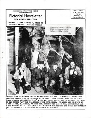 The Pictorial Newsletter: January 13, 1965