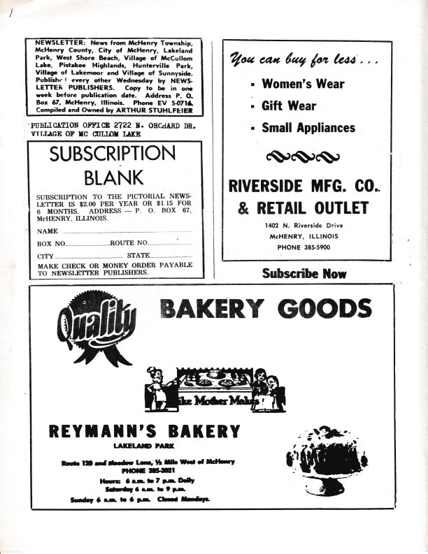 The Pictorial Newsletter: February 24, 1965