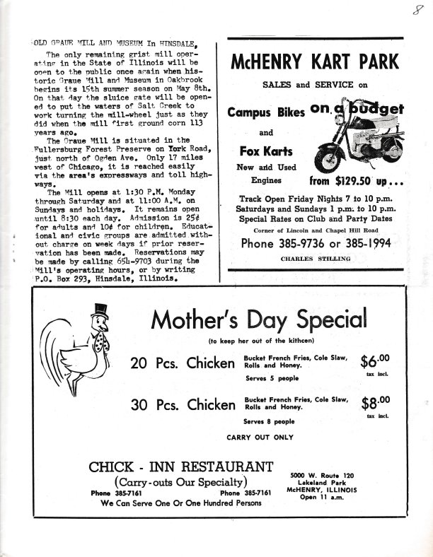 The Pictorial Newsletter: May 5, 1965