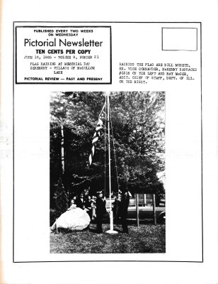 The Pictorial Newsletter: June 16, 1965
