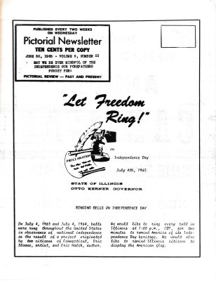 The Pictorial Newsletter: June 30, 1965